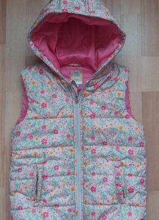 Класна жилетка куртка на дівчинку