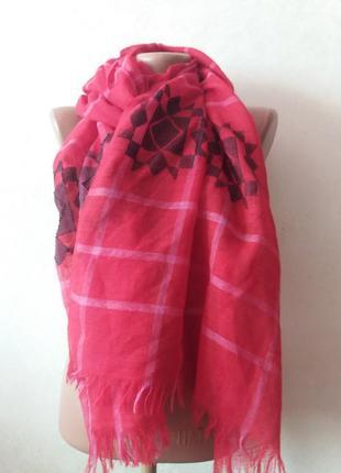 Шерстяной платок шарф sasha