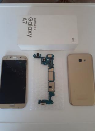 Samsung Galaxy A7 (2017) на запчасти