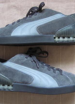 Puma go court (44) замшевые кроссовки мужские