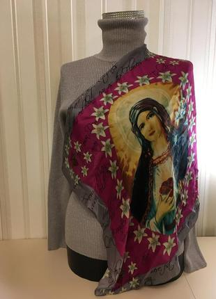Шелковый платок мадонна