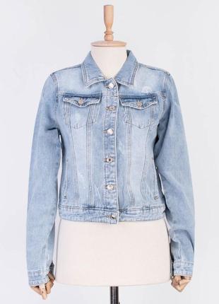 Жіноча весняна джинсова куртка / женская весенняя джинс джинсо...