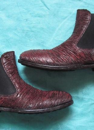 Moma (39) кожаные ботинки челси женские