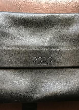 Polo сумка через плече шкіряна