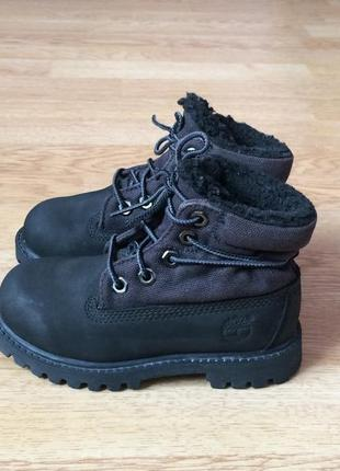 Кожаные ботинки timberland оригинал 26 размера