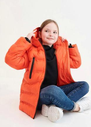 Куртка оверсайз для дівчинки на ріст 128 см та 164 см. фірма r...