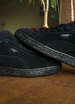 Мужские кросовки puma suede classic + speckle