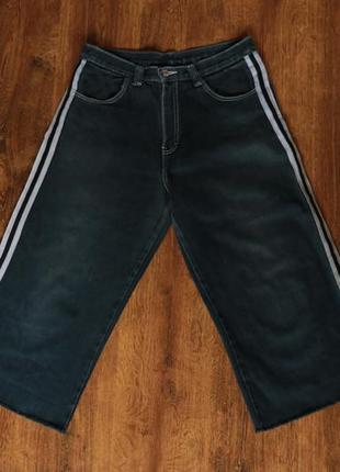 Мужские джинсовые бриджи 32 размер
