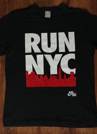 "Мужская футболка nike air ""run nyc"""