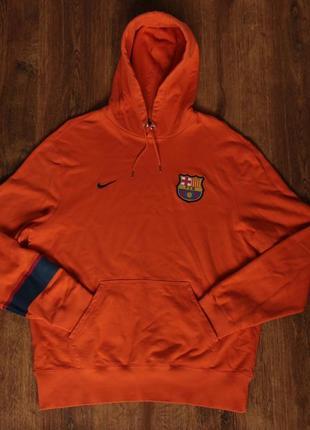 Мужской балахон nike men's fc barcelona core hoodie