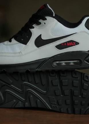 "Мужские кроссовки nike air max 90 essential ""wolf grey"""