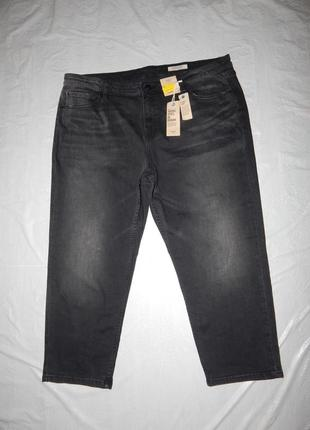 Ххl, батал джинсы укороченные зауженные marks & spencer