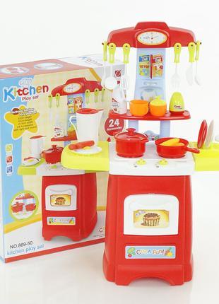 Детская Kуxня с посудкой 889-50