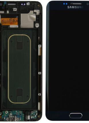 Дисплей Samsung Galaxy S6 EDGE Plus, G928F Super Amoled с рамк...