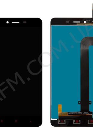 Дисплей (LCD) Xiaomi Redmi Note 2 с сенсором чёрный
