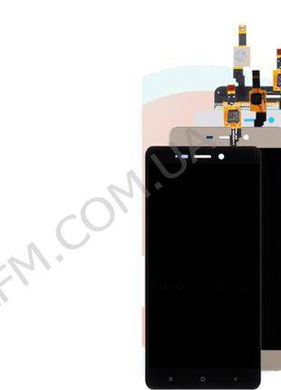 Дисплей (LCD) Xiaomi Redmi 4 с сенсором белый