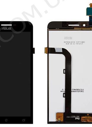 Дисплей (LCD) Asus ZenFone Go (ZC500TG) с сенсором чёрный