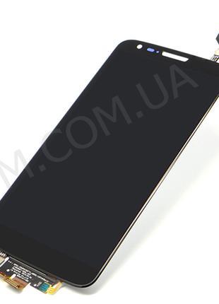 Дисплей (LCD) LG D802 G2/ D805 G2 с сенсором чёрный