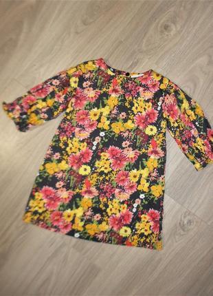 Стильное платье - туника на 5лет