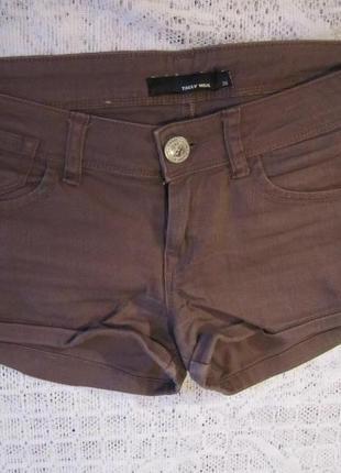 Короткие шорты tally weijl. мини-шорты, шорты в обтяжку