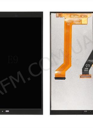 Дисплей (LCD) HTC One E9 с сенсором чёрный*