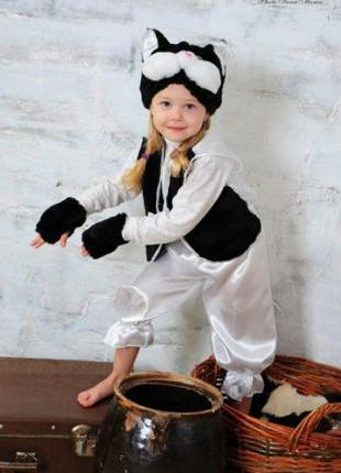 Детский новогодний костюм Котик