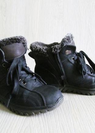 Ботинки детские зимние теплые на меху 34 размер