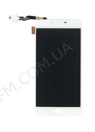 Дисплей (LCD) Umidigi C Note 2 с сенсором белый*