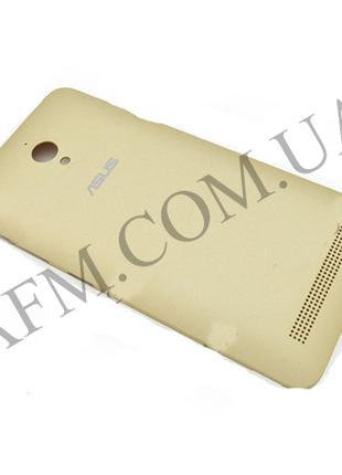 Задняя крышка Asus Zenfone GO (ZC500TG) золотая*