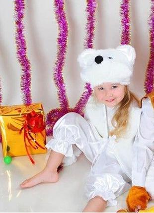 Детский Карнавальный костюм медведь мишка