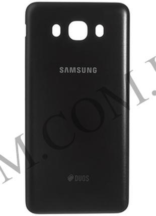 Задняя крышка Samsung J710F Galaxy J7 2016 чёрная