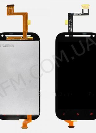 Дисплей (LCD) HTC C520e/ T528t One SV One ST с сенсором чёрный