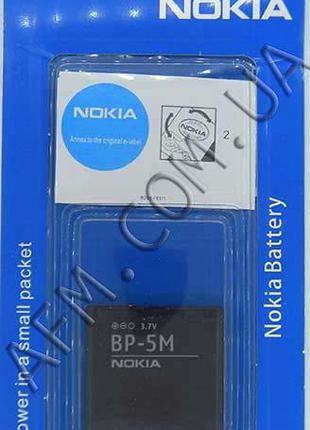 АКБ оригинал Nokia BP- 5M Nokia 5610/ 5700/ 6500 Slide/ 7390/ ...