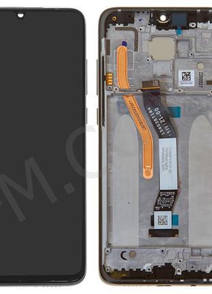 Дисплей (LCD) Xiaomi Redmi Note 8 Pro (на 2 Sim) с сенсором чё...