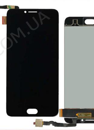 Дисплей (LCD) Umidigi C Note 2 с сенсором чёрный*