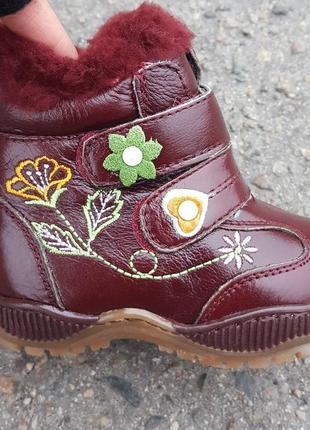 Зимние ботинки lilin shoes