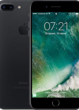 Смартфон Apple iPhone 7 Plus 128GB Matte Black Refurbished (ST...