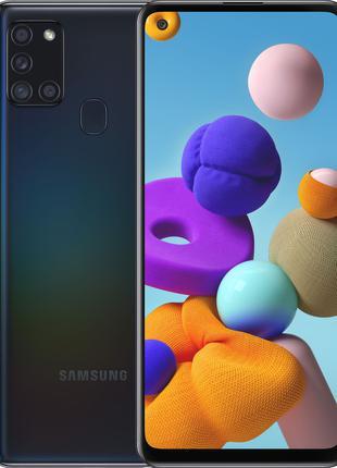 Смартфон SAMSUNG Galaxy A21s 3/32GB Dual Sim Black (SM-A217FZK...