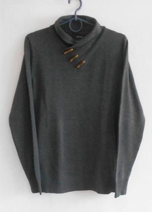 Осенний зимний свитер с длинным рукавом