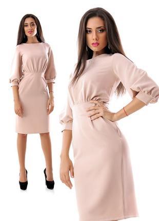 Платье миди, отличный вариант для отдыха и на каждый день, рук...