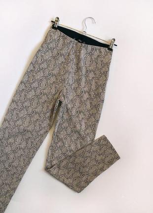 Обалденные зауженные брюки с высокой посадкой zara