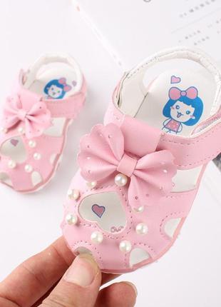 Миленькие боссоножки сандалики для малышек