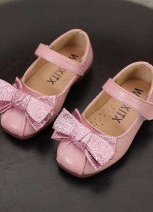Миленькие детские туфельки