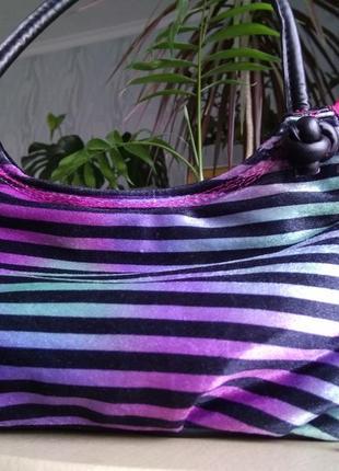 Прикольная двухсторонняя сумка косметичка клатч