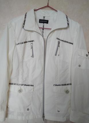 Стильная куртка ветровка бомбер рубашка отделка анималистическ...