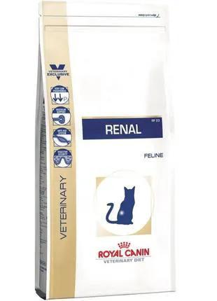 Сухой лечебный корм Royal Canin  Renal, 4 кг