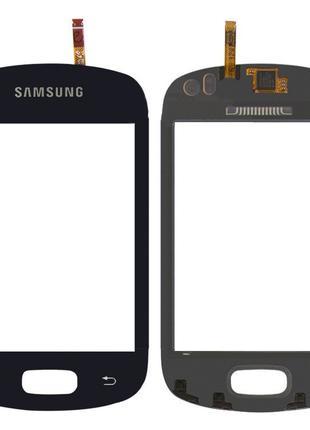 Тачскрин Samsung Galaxy Music S6010, S6012 Black