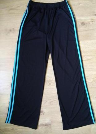 Классные эластичные спортивные брюки штаны брендовые