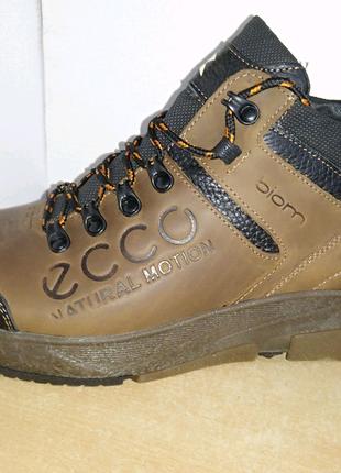 Зимние ботинки в стиле Ecco
