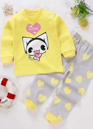 Пижама, комплект для малыша, для младенца